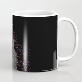 Full Moon Tree Topper (Chicago Christmas/Holiday Collection) Coffee Mug