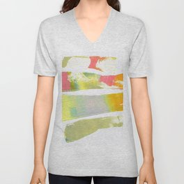 The form of poetry Unisex V-Neck