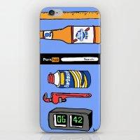 boys iPhone & iPod Skins featuring Boys  by badbadgraphics