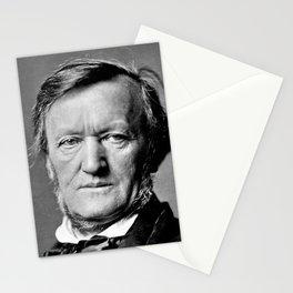 Franz Hanfstaengl - portrait of Wagner Stationery Cards