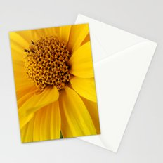 sunny yellow Stationery Cards