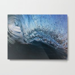Crystal Blue Persuasion II Metal Print