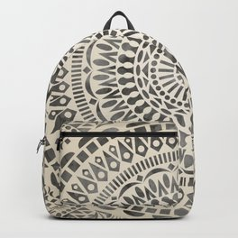 mandala15w Watercolor Mandala Backpack