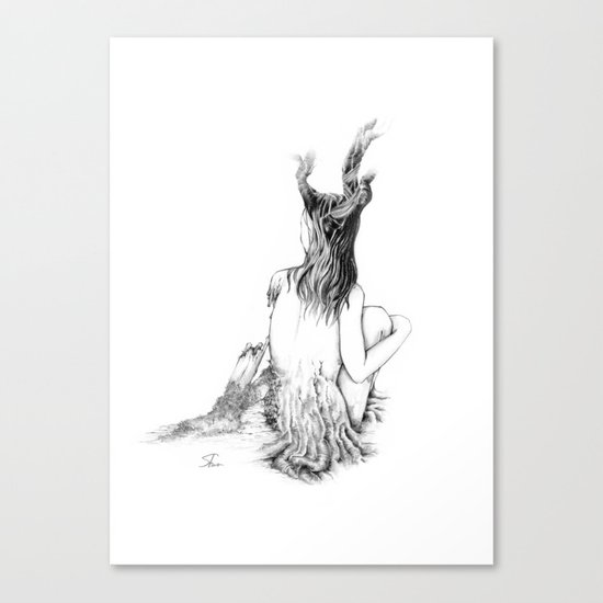 Sleeping Forest Canvas Print