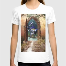 Awesome marlin T-shirt