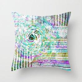 Mix Retro Throw Pillow