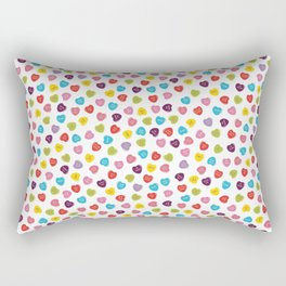 Candy Hearts Rectangular Pillow