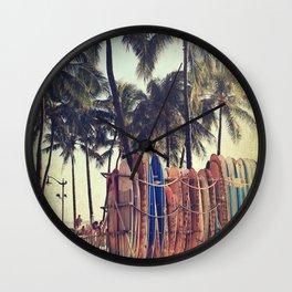 Classic Hawaii Wall Clock