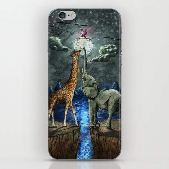 The Magical Forces of the Moon iPhone & iPod Skin