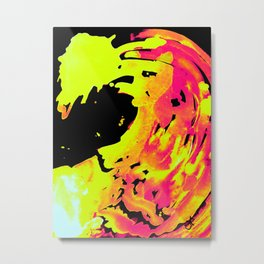 Solar Flare Wave Metal Print