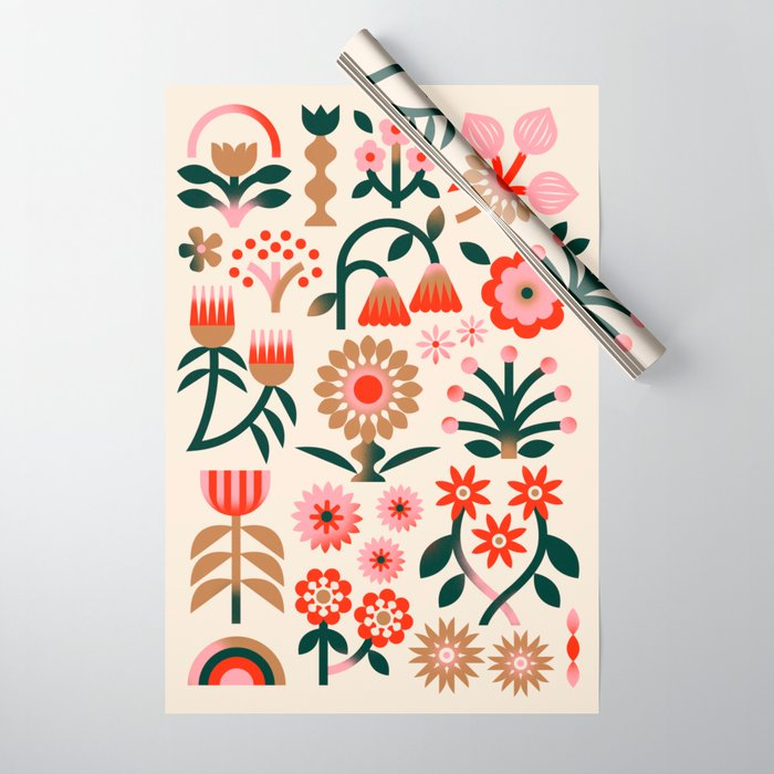 Winter Wrap: White Wrapping Paper