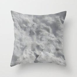 textured wall for background and texture Throw Pillow