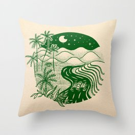 Memories of the Philippines Throw Pillow