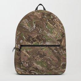 Camo Craze Twist Blur - Traditional Backpack