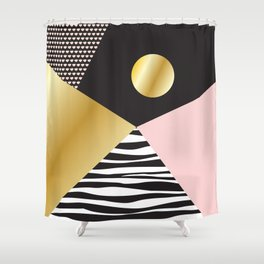 Golden Moon #buyart #society6 #decor Shower Curtain