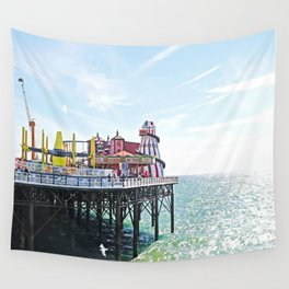Seaside Excursion Wall Tapestry