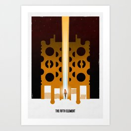 Supreme Being 2 Art Print