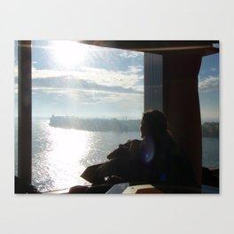 Yearning for the Sea Canvas Print
