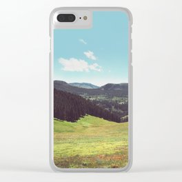 As Far As I Can See Clear iPhone Case