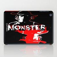 carl sagan iPad Cases featuring Carl Grimes by artandawesome