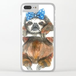 Gertie the Grump Clear iPhone Case