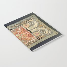 Kaitag 18th Century Caucasian Embroidery Print Notebook