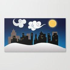 City scape Canvas Print