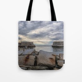 Lanes Cove on a cloudy afternoon Tote Bag