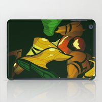 samus iPad Cases featuring SAMUS by Jemma Salume