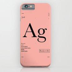 Baskerville iPhone 6s Slim Case