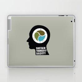 sustain yourself society Laptop & iPad Skin