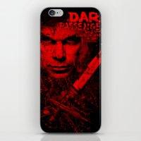 dexter iPhone & iPod Skins featuring Dexter by fajnawizja