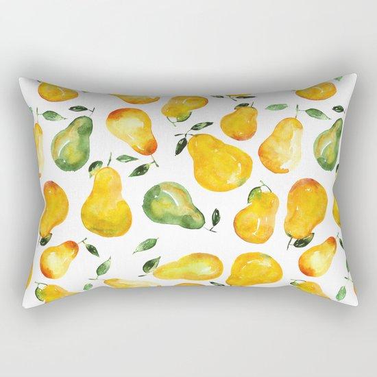 Sweet pears Rectangular Pillow
