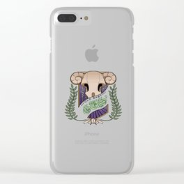 Old Baby Gus' Tavern Logo Clear iPhone Case