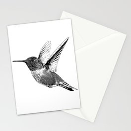 Hummingbird-Flying-Bird-Animal,Nectar-Flower Stationery Cards