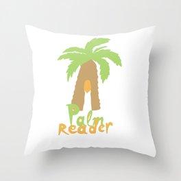 Palm Reader Throw Pillow