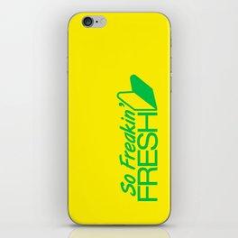 So Freakin' Fresh v2 HQvector iPhone Skin
