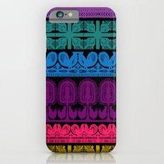 folk cutouts pattern iPhone 6s Slim Case
