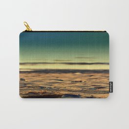 mussel on sand Carry-All Pouch