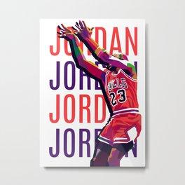 Jordan Metal Print