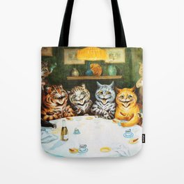 Kitty Happy Hour - Louis Wain's Cats Tote Bag