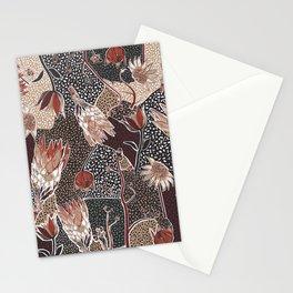 Australian native flower pattern Stationery Cards