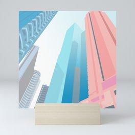 HONG KONG URBANSCAPE S1 Mini Art Print