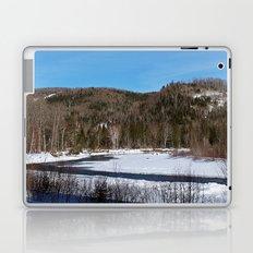 Winding River in Winter Laptop & iPad Skin
