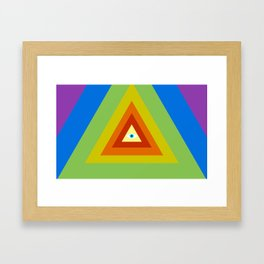 All Seeing, All Knowing Framed Art Print