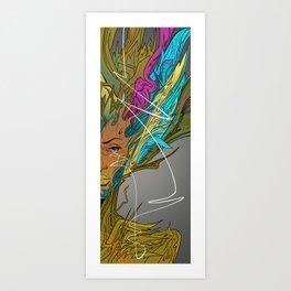 Reflect the light Art Print