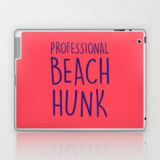 PROFESSIONAL BEACH HUNK Laptop & iPad Skin