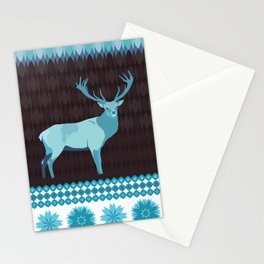 Winter Deer Stationery Cards