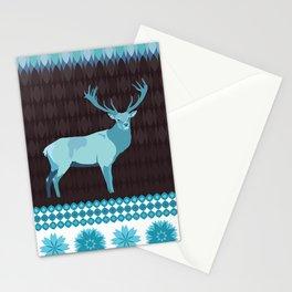 Winter Deer Stationery Cards