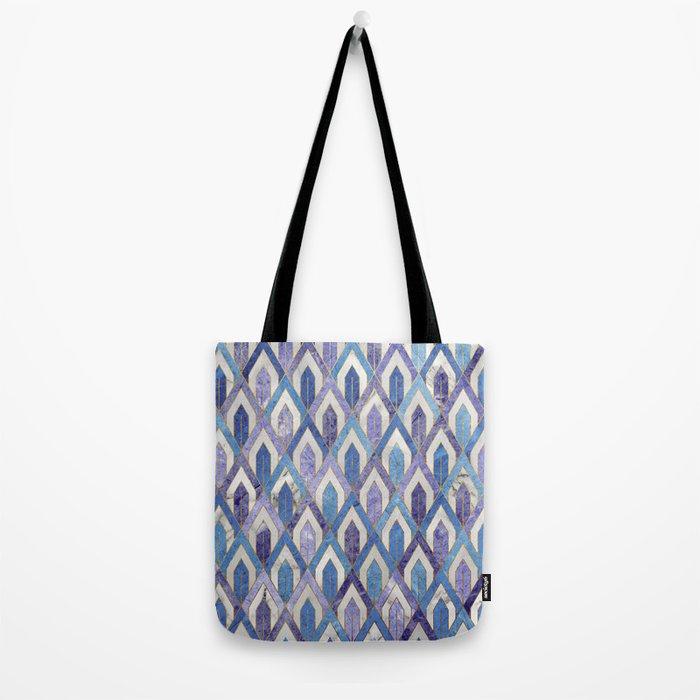 Art Deco Marble Pattern III. Tote Bag